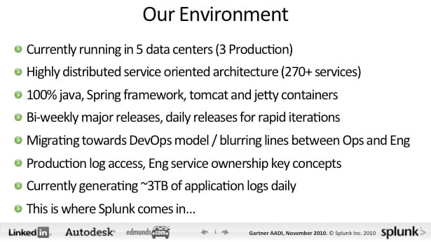 devops working in the real world linkedin example