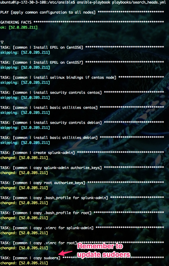 Deploying Splunk Securely with Ansible Config Management – Part 2