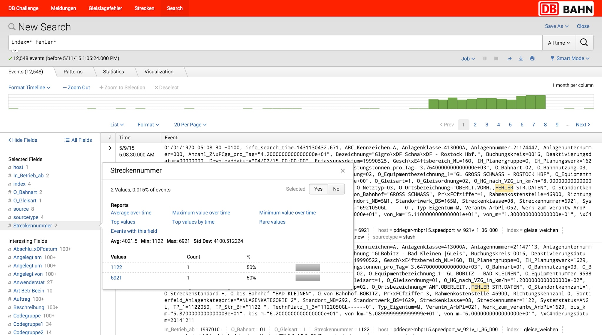 Splunk real time search and automatic field extraction
