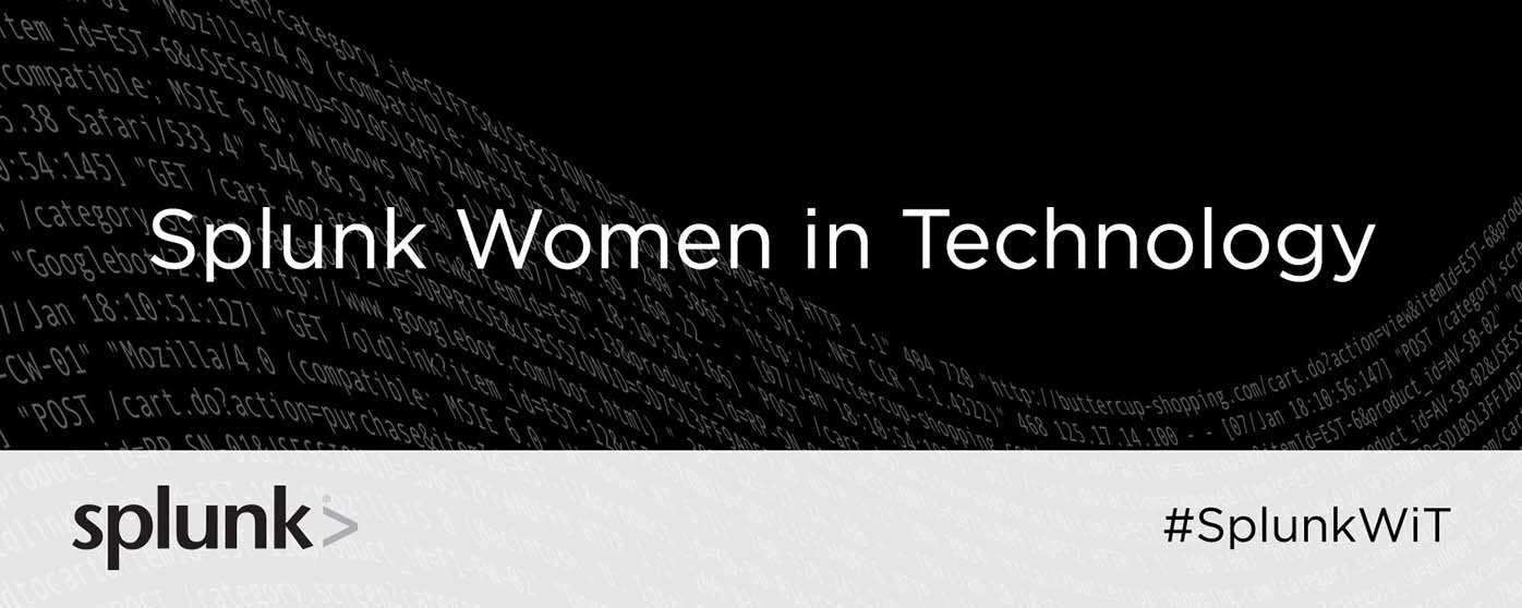 Splunk Women in Technology banner