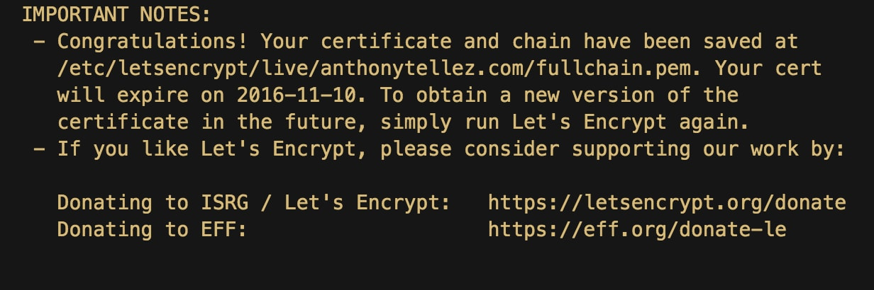 Secure Splunk Web in Five Minutes Using Let's Encrypt