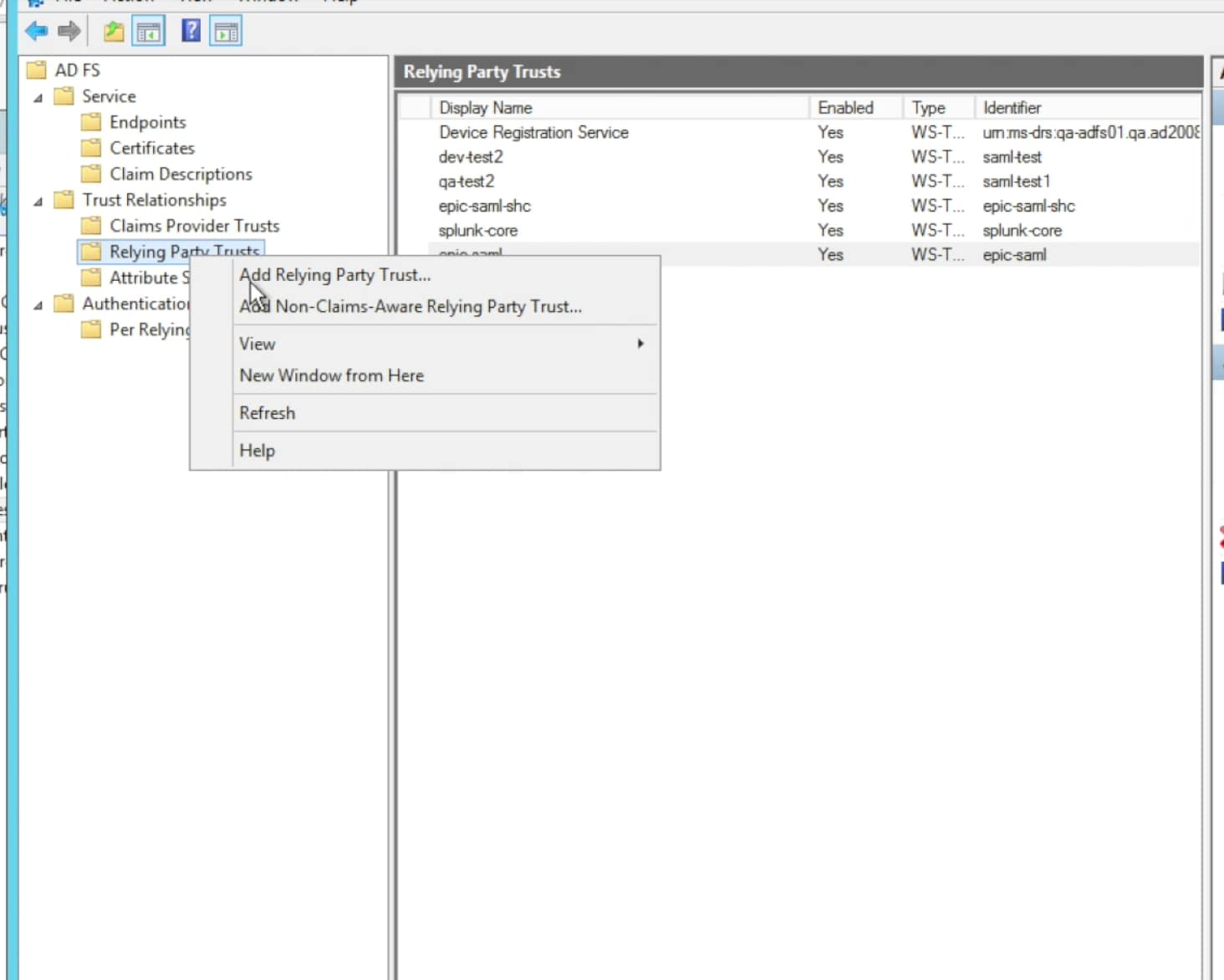 Configuring Microsofts Active Directory Federation Services Adfs