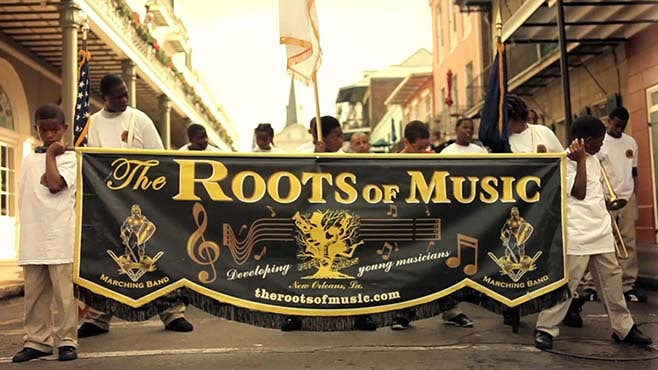 the Roots of Music banner