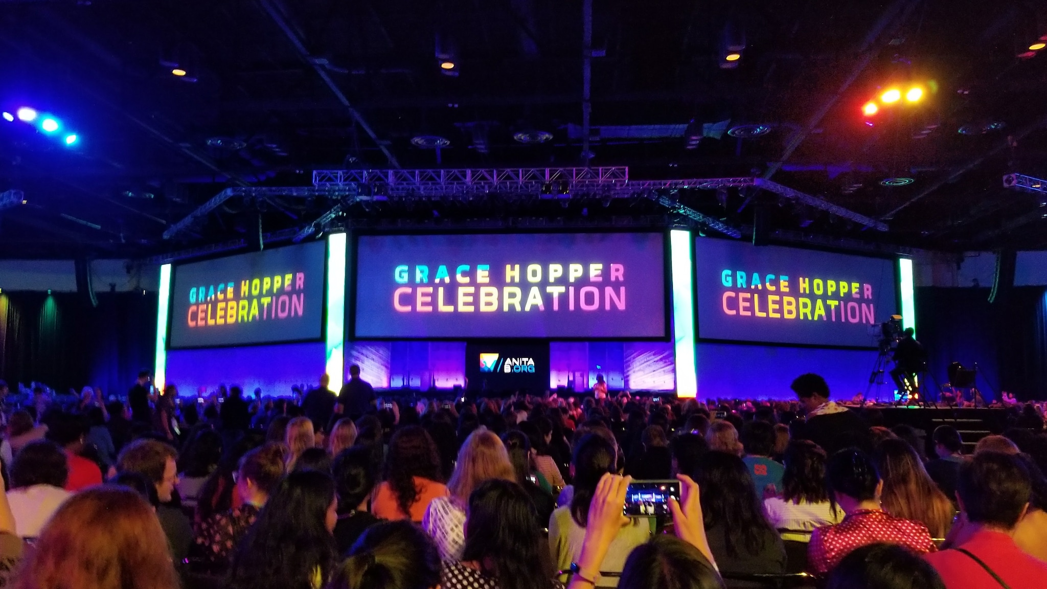 The Grace Hopper Celebration  >> Splunk At Grace Hopper Celebration 2017 More Than Just Recruiting