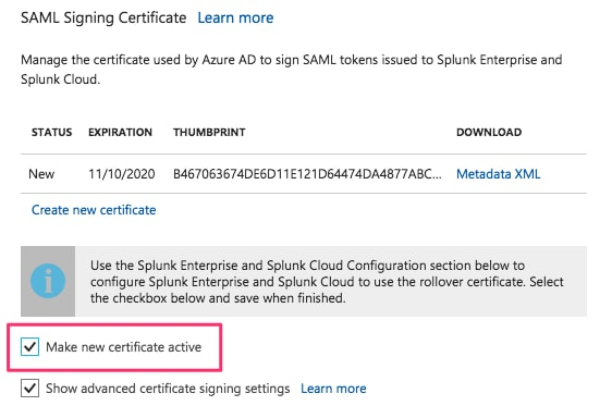 Configuring Microsoft's Azure SAML Single Sign On (SSO) with