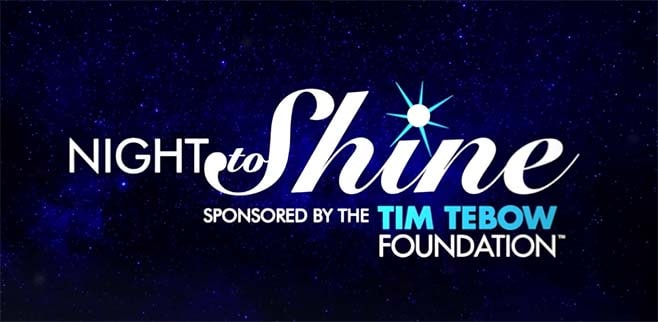Night to Shine banner
