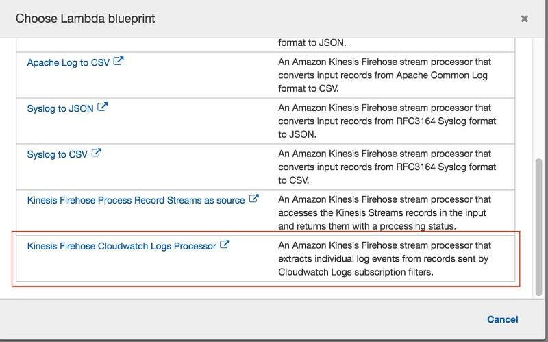 Power Data Ingestion into Splunk Using Amazon Kinesis Data