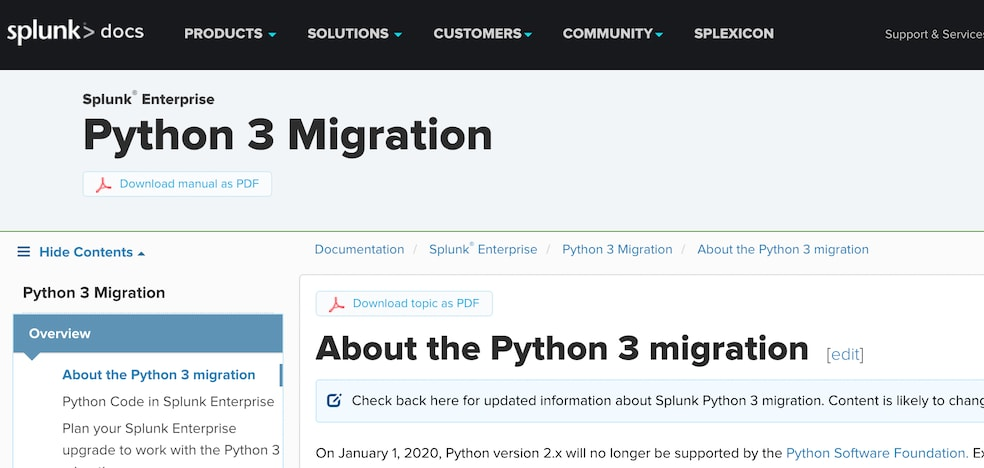 Admins and Developers: We're Transitioning to Python 3