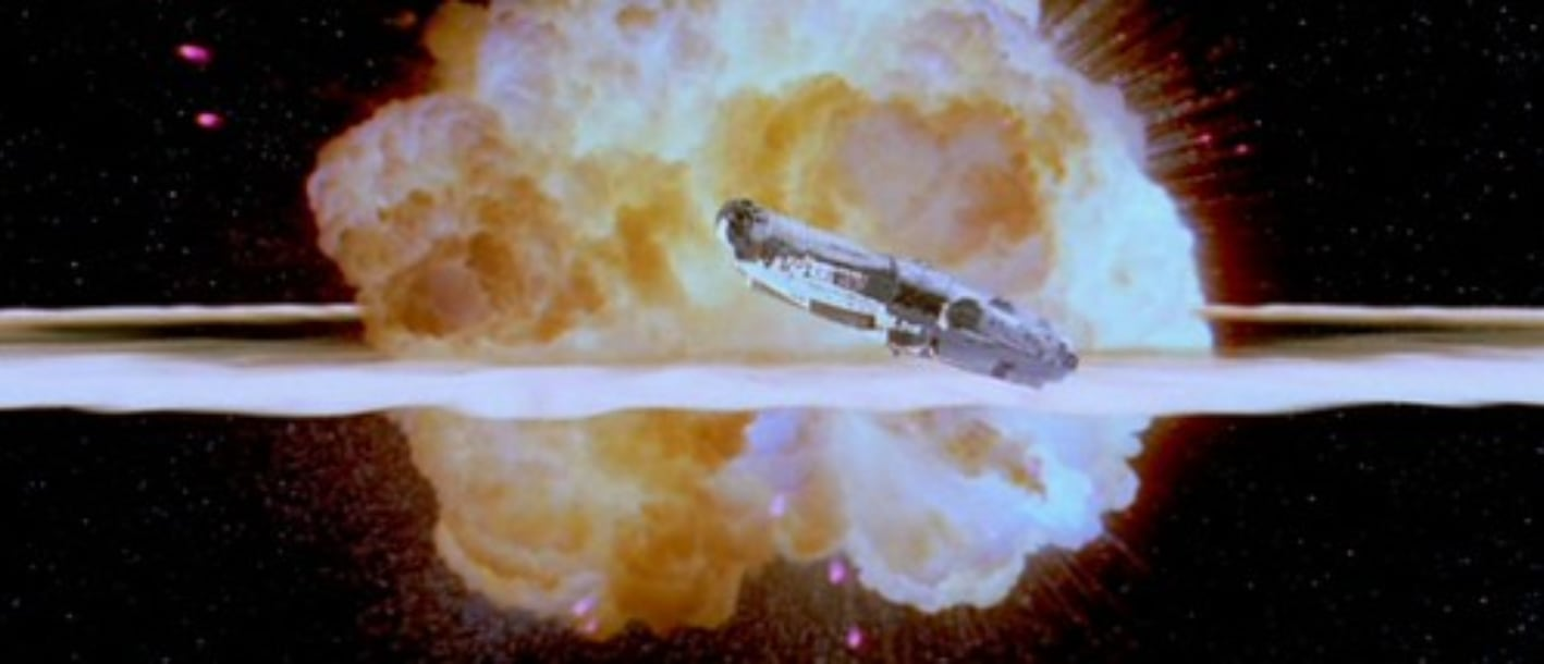 Star Wars Exploding Death Star