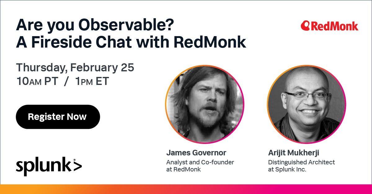 A Fireside Chat with RedMonk