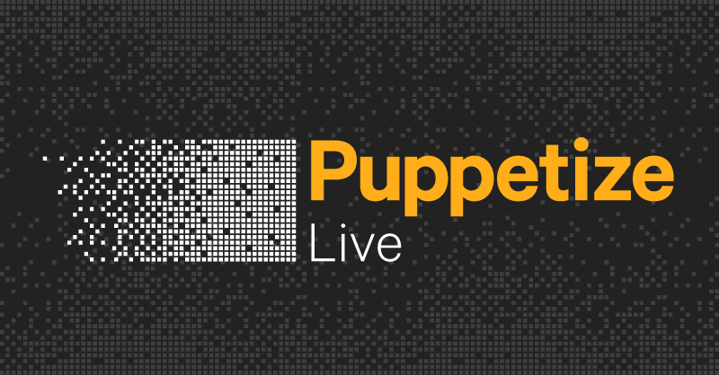 puppetize live Logo