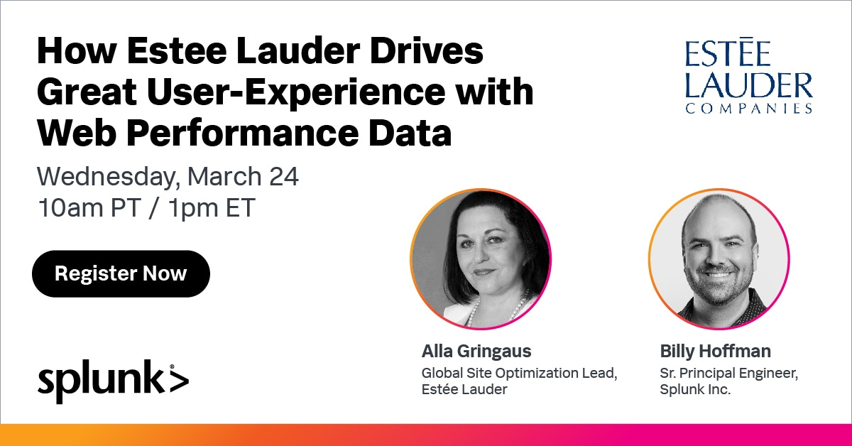 How Estee Lauder Drives Great User-Experience with Web Performance Data