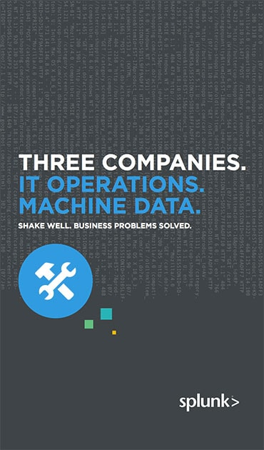 Three companies it operations machine data e book splunk the day to day operations of your it systems and applications all have one thing in common machine data with splunk solutions you can unlock the value of fandeluxe Images