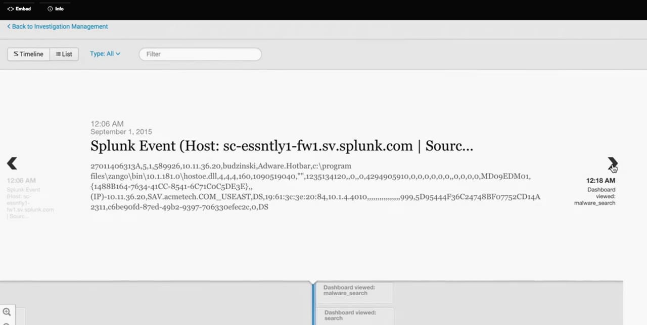 通过 splunk enterprise security,响应高级攻击