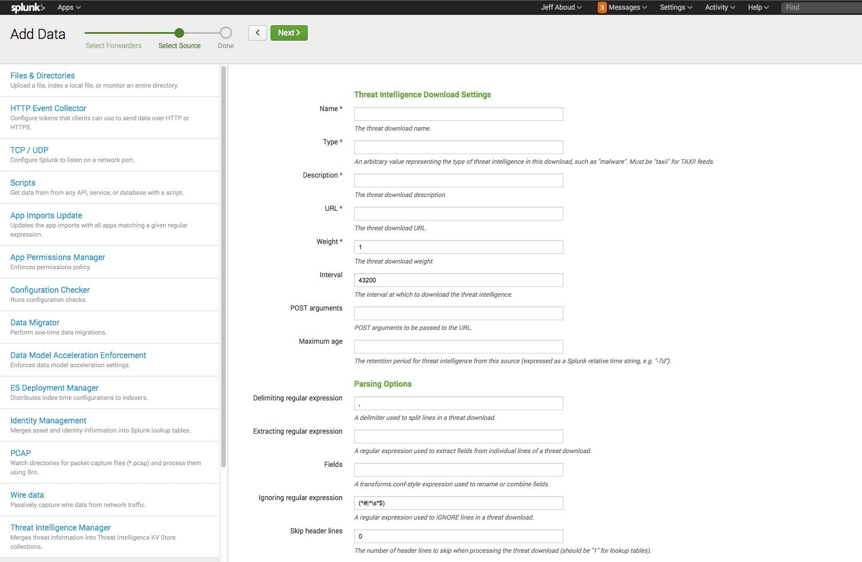 Splunk Enterprise Security Features